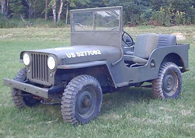 My 1947 Willys CJ2A