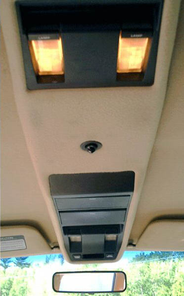 1970 Barracuda - Late Model Overhead Console